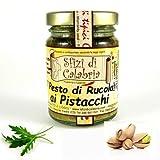 Pesto Calabrese, Rucola e Pistacchi 95 gr In olio di oliva