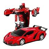 Telecomando auto, 1:18 Giocattoli per bambini Trasformatori Robot RC Auto 360 ° rotazione acrobazie auto Zero Gravità Automobili elettroniche Ricaricabili Giocattoli Giochi per ragazzi Adolescenti