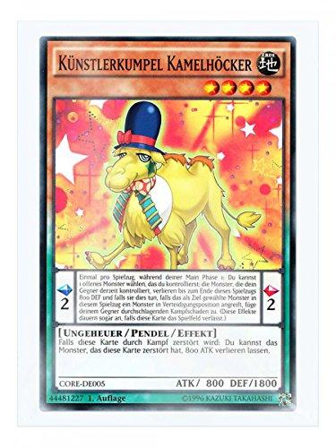 CORE-DE005 Künstlerkumpel Kamelhöcker 1. Auflage im Set mit original Gwindi Kartenschutzhülle
