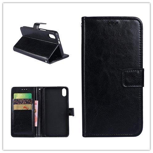 Custodia® Flip Brieftasche Hülle mit Standfunktion für Umi Umidigi One Max(Muster 2)