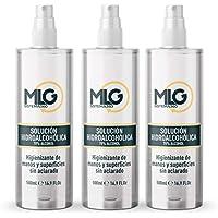 MLG SISTEMA 360 - Hidroalcohol 3 x 500ml con Spray | Ideal para una higiene profunda de manos - Hidroalcoholico Liquido envase con Aerosol