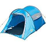 Highlander Unisexe jusqu'en 2à montage rapide Pop Up Tente, Bleu/Gris, 2personnes
