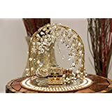GiftingBestWishes Wedding Tray /Decorative Tray/ Engagement Ring Platter/Engagement Ring Tray- Pearl Drop