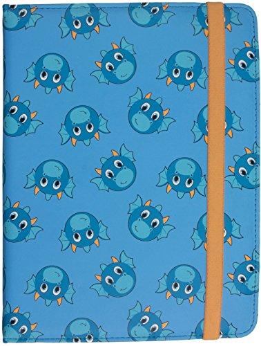 My Doodles Universal PU Leder Folio Flip Case mit Verschlussband für 15,24-20,32 cm [6-8