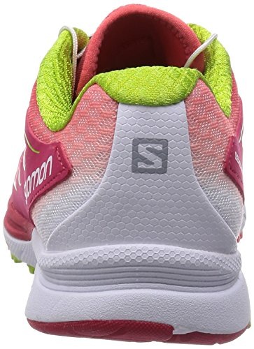 Salomon Damen Sense Mantra 3 Traillaufschuhe Pink (Lotus Pink/White/Granny Green)