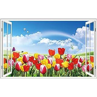 ZHFC-3d tridimensionali muro adesivi false finestre nella stanza da salotto sfondo sfondo muro adesivi adesivi adesivi creativo autoadesivi impermeabile.,14,Il Grande