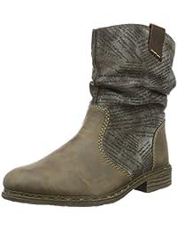 Rieker Damen Z2128 Kurzschaft Stiefel