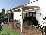 Terrassenüberdachung SYLT I Wintergarten 400 x 300 cm Überdachung Terrasse