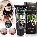 Charcoal Face Mask, Blackhead Mask, Peel Off Mask, Blackhead Removal Mask, Deep Facial
