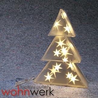 Beleuchteter-Hologramm-Baum-16-LED-X-Mas-Weihnachten-Deko-3D-Effekt