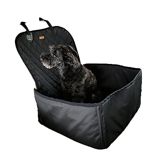 Seat Matte Wasserdicht Atmungsaktiv Safety Car Sicherheitsgurt Bezug Booster Bag Pet Carrier Reisen Auto-Kissen für Hund Katze Haustier, Universal für alle Autos, Lkws, SUV (für Front Seat) (Kunststoff-kissen-abdeckungen)