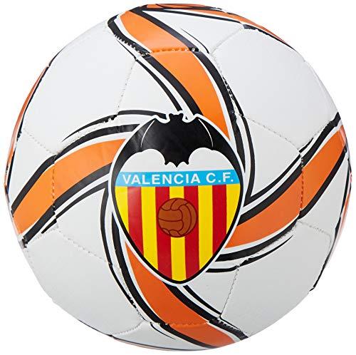 PUMA VCF Future Flare Mini Ball Balón de Fútbol, Adultos Unisex, White-Vibrant Orange Black, Mini