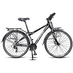 Bicicleta De Ciudad 6-Velocidades Bici Freno de Aleación de Auminio para Unisex Adulto