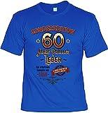 Cooles T-Shirt Zum 60. Geburtstag T-Shirt mit Urkunde 1958 Limitierte Auflage Geschenk Zum 60 Geburtstag 60 Geburtstagsgeschenk 60-Jähriger