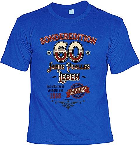 smurfbay Geburtstag T-Shirt - Sonderedition 60 Jahre Pralles -