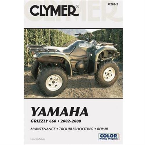 Clymer Repair Manual for Yamaha ATV Grizzly 660 02-07 by Clymer