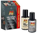 A1 Leder-Reiniger + A1 Leder-Pflege, je 250 ml im Set inkl. GRATIS Zubehör2x 250 ml(#2511)