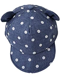 d8515f3f Ogquaton Gorra de béisbol duradera para bebés, cara de la sonrisa, punto de  impresión