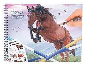 Depesche 10295Libro para Colorear Horses Dreams, Multicolor