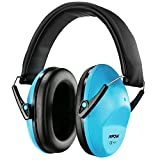 Mpow Children Ear Defenders, SNR29/NNR25 Noise Cancelling Ear Defenders For  Baby and Child?6 Months to 14 Years Old), Fit for Boy and Girl, Adjustable and Foldable Headband, for Concert, Firework, Flight, Thunderstorm (Blue,Carrying Bag Included)