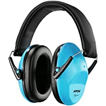 Mpow enfants casque anti-bruit, NRR 25DB/SNR 29dB bébé casque antibruit Cache-oreilles, protections auditives pour concert ou Fireworks, bandeau réglable casque anti-bruit pour enfant (Bleu, Sac de transport inclus)