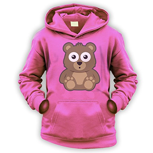 Ted Bear Kids Hoodie -x9 Colours- XS To XXL Sizes (1 To 13 Years)