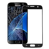 KlickaDeal® Für Original Samsung Galaxy S7 Schwarz G930 LCD Display Front Glas Glass Touch Screen Glas S7 G930 Schwarz