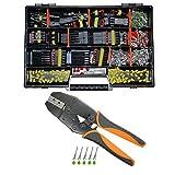 Superseal Starter Set 1-6-pol. mit Crimpzange f. 0,35²/0,50² u. 1,50mm² AUTO KFZ