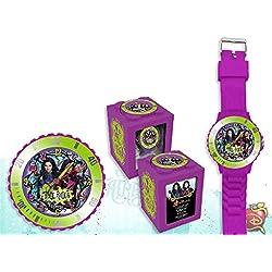 Kids Euroswan - Disney WD16748 The Descendants Analog Clock 4 in 1