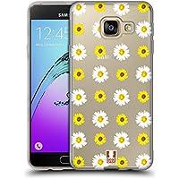 Head Case Designs Tournesol De Pâquerette Puissance De Fleur Étui Coque en Gel molle pour Samsung Galaxy A3 (2016)