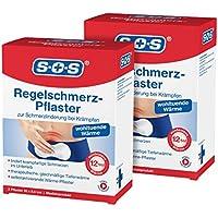 SOS Regelschmerz-Pflaster (2er Pack) | Schmerzlinderung bei Krämpfen | Regelschmerzen Periode Zyklus Krämpfe im... preisvergleich bei billige-tabletten.eu