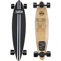 Teamgee Elektrisches Skateboard Eletro Longboard mit Fernbedienung, Integrierte Akku Dual Motor, 15km Reichweite, bis zu 30km/h, Ahornholz Deck, 83A Räder, Für Pendelverkehr Jugendliche Erwachsene