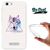 "Becool® Fun - Cover Gel Flexible Cubot Note S - Dinosaur, TPU Case made out of the best Silicone, protects and adapts flawlessly to your Smartphone, together with our exclusive designs. Wolf ""Be Wild"""