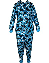 **Great Value** Adults Cookie Monster Onesie Stocking Filler Small