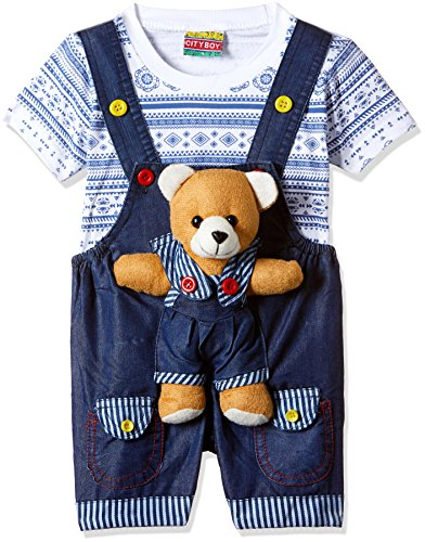 kuchipoo Unisex Regular Fit Cotton Dungaree