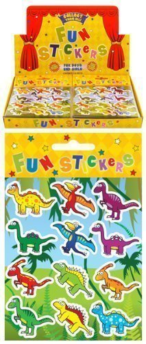 Image of 24 x Dinosaur Sticker Sheets - REFERENCE PBF159
