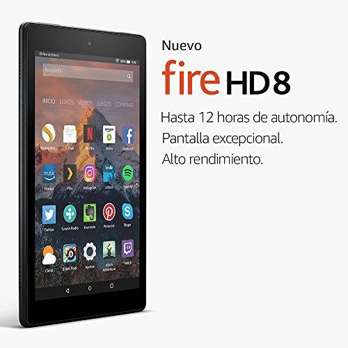 first look buying new offer discounts Precio Más Barato Nuevo tablet Fire HD 8, pantalla de 8 ...