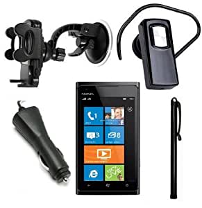 Nokia Lumia 900 Accessory pack - Bluetooth headset, car holder, car charger and stylus