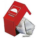JUTEC Stahlbehälter Jt5000Lb für Feuerlöschdecke