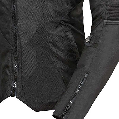 Newfacelook Damen Motorrad Motorrad jacke fraue wasserdichte Schutz L - 2