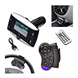 Fashion 3,8 cm LCD Auto Kit MP3 Player Bluetooth FM Transmitter Modulator SD MMC USB Fernbedienung