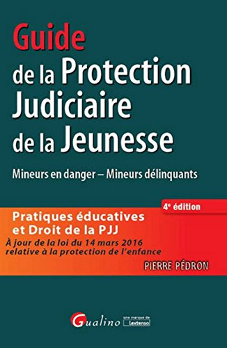 Guide de la Protection judiciaire de la jeunesse,