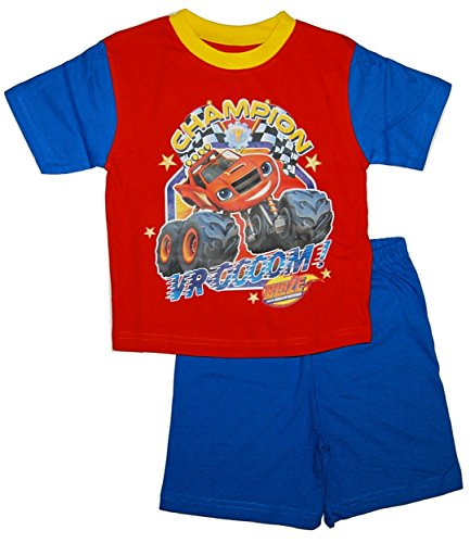 Blaze & the monster machines -  pigiama due pezzi  - ragazzo blue / red / multicolour 18-24 mesi