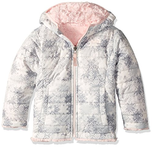 The North Face Kids Baby Girl's Reversible Mossbud Swirl Jacket (Toddler) The North Face Reversible Jacket