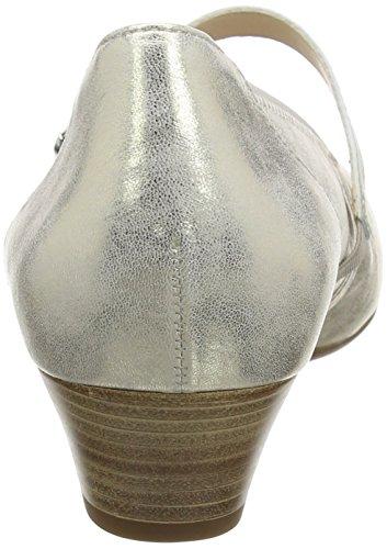 Gabor Shoes Comfort, Scarpe con Tacco Donna Argento (platino 63)