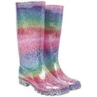 Nicky Adams Countrywear Ladies Wellingtons Boots Sparkle Wellies Store Waterproof Glitter Rain Wet Gum