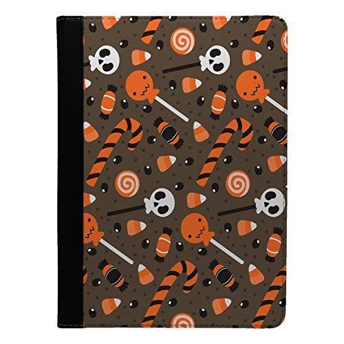 Accessories4Life Halloween Candy Muster Bedruckt Flip Etui Hülle für Apple Ipad pro 10.5 - S4000
