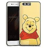 Huawei P10 Slim Case transparent anthrazit Silikon Hülle Schutzhülle Disney Winnie Puuh Merchandise Fanartikel
