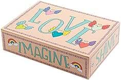 Creibo CBOX009 - Caja Cartón Grande decorada LOVE