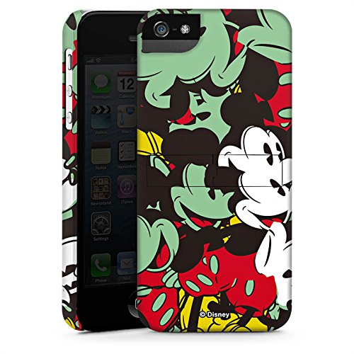 Apple iPhone X Silikon Hülle Case Schutzhülle Disney Mickey Mouse Geschenke Premium Case StandUp